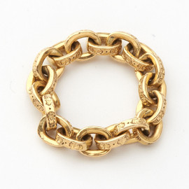 TFL & Eternity / 22K Gold Ring w/Pave Diamonds