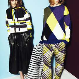 MSGM - 2013AW pre LOOK BOOK