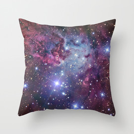 "Society6 - Nebula Galaxy by RexLambo THROW PILLOW / COVER (18"" X 18"")"