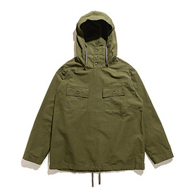 ENGINEERED GARMENTS - Cagoule Shirt-Drab Cotton Ripstop-Olive