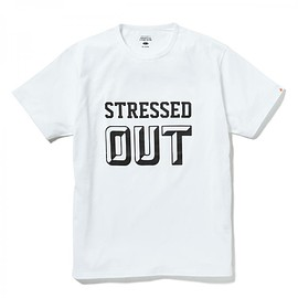 HEAD PORTER PLUS - STRESSED OUT TEE WHITE