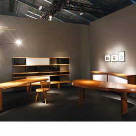 Charlotte Perriand - Charlotte Perriand Masterpieces shown at Design Miami, Basel, Patrick Seguin Gallery