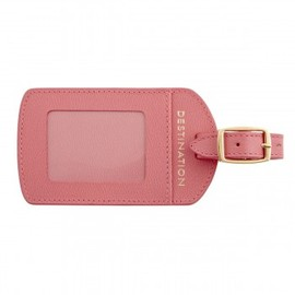 SMYTHSON - Luggage Label, Rose Collection - Smythson - Rose