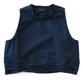 P.A.M. - Gravity Cropped Top (navy)