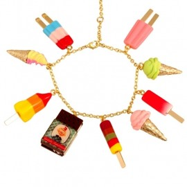 N2 by Les Nereides - 2013/SS■■N2 by Les Nereides■■BRACELET WITH MULTIPLE ICE CREAM CHARMS 1
