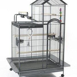 Large Parrot Cage - Large Two Tier Parrot Cage