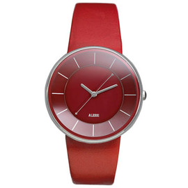 ALESSI - Luna Watch (Red) by Alessandro Mendini