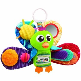 TOMY - Lamaze Play & Grow Jacques the Peacock Take Along Toy