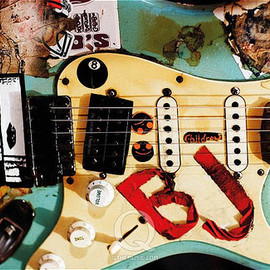 Fernandes Strat copy - Green Day's Billie Joe  guitar