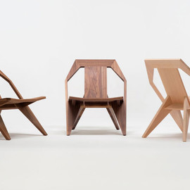 Uncino carved wood chairs