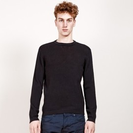Chauncey - Cotton mesh crew neck