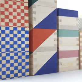 Ohashiryoki - Masu boxes, Colorful set