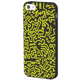 Grapht - Keith Haring Glowing Silicone iphone5