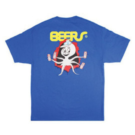 HUF - PARTYPUS RIPPER TEE (Royal)