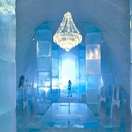 Ice Hotel - Absolut Vodka Bar