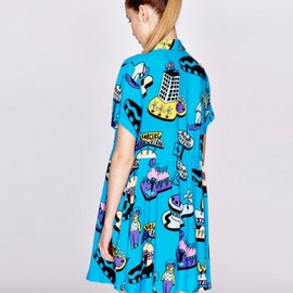 Lazy Oaf - Space Thru Dress