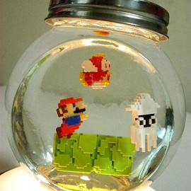 Super Mario bottle