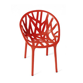 Ronan & Erwan Bouroullec - VEGETAL CHAIR BRICK ORANGE