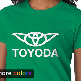 Star Wars TOYODA - Star Wars TOYODA, Toyota Yoda Womens T-shirt Tee, Camry 4Runner Darth Vader R2D2