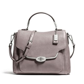 COACH - coach madison sadie flap 26624 グレークォーツ
