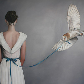 Amy Judd - May I Have This Dance, Oil on Canvas 127cm x 152cm