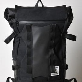 WHITE LINE × beruf baggage - WHITE LINE FOR MOUNTAIN TRAIL ベルーフコラボバックパック BLACK 2013SS
