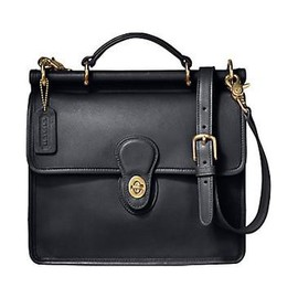 Coach Signature 15510 Ashley Carrall Bussiness Satchel Bag Tote