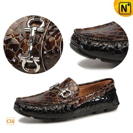 cwmalls - CWMALLS Designer Leather Loafers CW740021