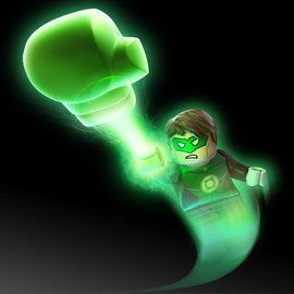 DC Comics, Lego - Green Lantern Minifigure Lego Batman Series