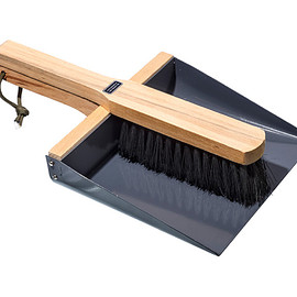 PUEBCO - BROOM & DUSTPAN SET - Gray
