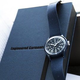 ENGINEERED GARMENTS × TIMEX × BEAMS BOY - Camper(NAVY)