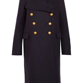 BURBERRY - Wool-felt coat
