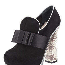 miu miu - Metallic-Trim Loafer Pump