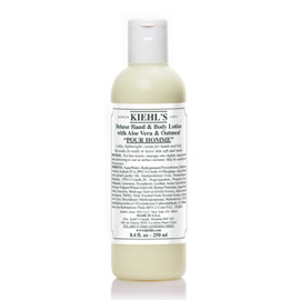 Kiehl's - DELUXE HAND & BODY LOTION WITH ALOE VERA & OATMEAL POUR HOMME