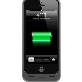 Mophie - Juice Pack Helium™ for iPhone 5 - Dark Mettalic