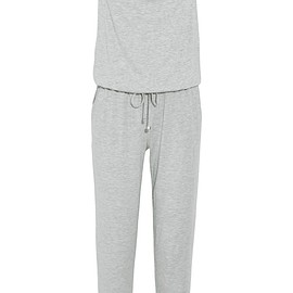 Calvin Klein Underwear - Motion hooded wool-blend jersey jumpsuit