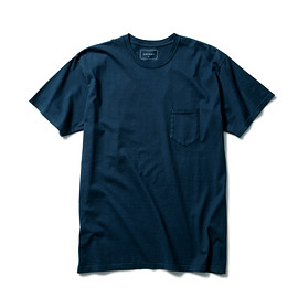 SOPHNET. - OVER DYE CREW NECK POCKET TEE
