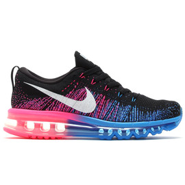 Nike - FLYKNIT AIR MAX (BLACK/WHITE-PHT BLUE-HYPR PNCH)