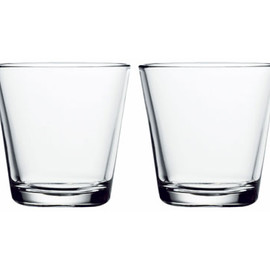 iittala - Kartio Double Old-Fashioned (Clear) by Kaj Franck
