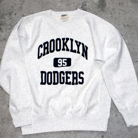 "Props-Store - ""Crooklyn Dodgers"" Crew Neck Sweat"