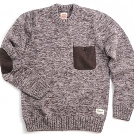 Carhartt - Hayes Sweater (Tan Heather Dark Brown)