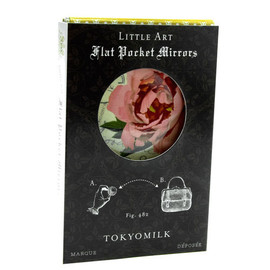 TOKYOMILK - Flat Pocket Mirror - Stamped Rose