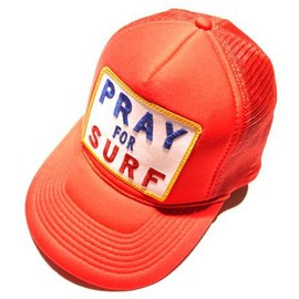 "Aviator Nation - ""PRAY FOR SURF"" Cap in Red"