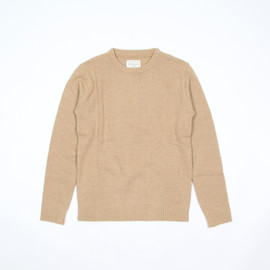 commono reproducts - workers knit Beige