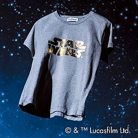MUVEIL WORK - ロゴTシャツ(STAR WARS)