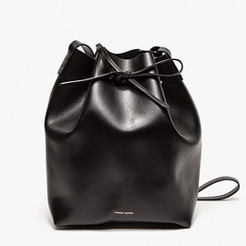 Mansur Gavriel - Bucket Bag In Black/Black