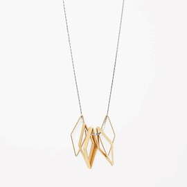 COS - Shaped pendant necklace
