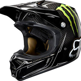 FOX - V3 HELMET(RCレプリカ MONSTER ENERGY カーボン)
