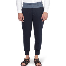 kolor - Tapered-Leg Panelled Trousers