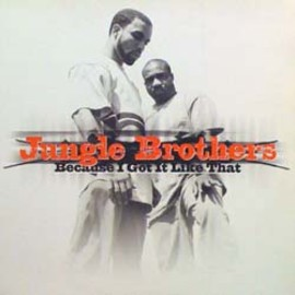 Jungle Brothers - Because I Got It Like That / Gee Street